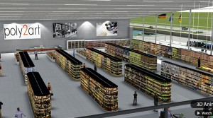3D Supermarkt Animation